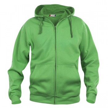 Basic Hoody heren full zip