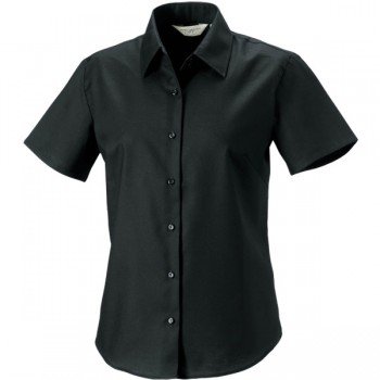 Ladies ss easy care oxford shirt