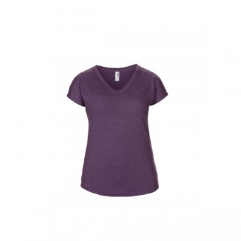 T-shirt triblend v-neck ss for her