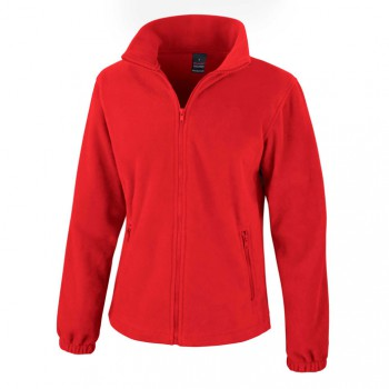 Ladies Fashion Fit Outdoor Fleece Jacket