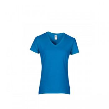 T-shirt premium cotton V-neck for her