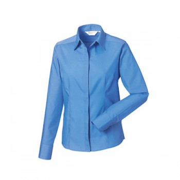 Fitted poplin shirt ladies LM