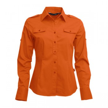 Shirt twill ls for her