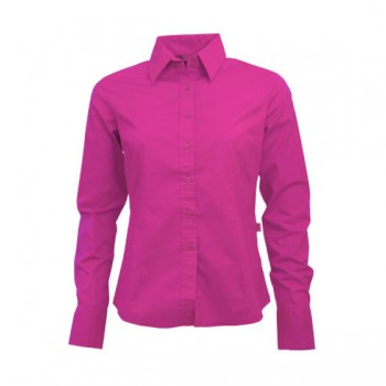 Shirt poplin ls for her