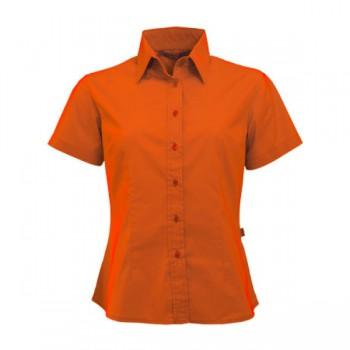 Shirt poplin ss for her