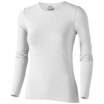 Dames Curve T-shirt met lange mouwen