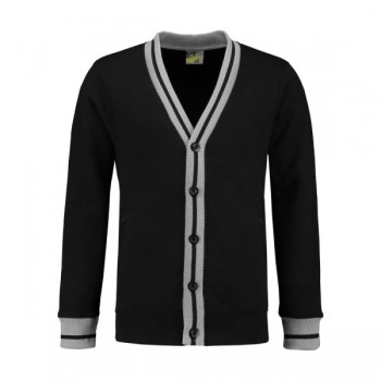 Sweater cardigan college unisex