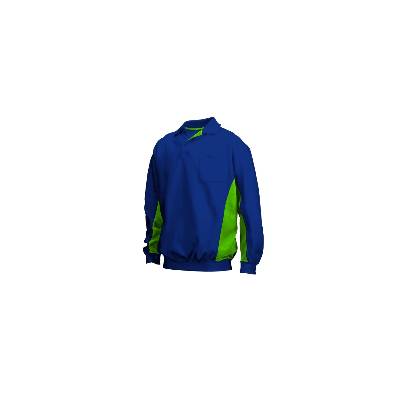 Polosweater bi-color