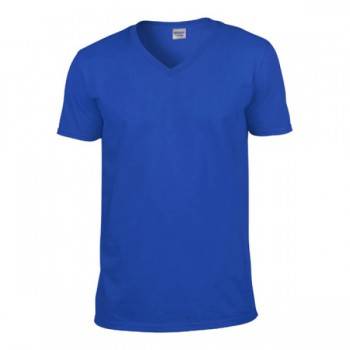T-shirt softstyle v-hals