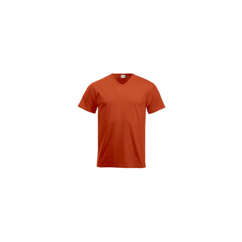 Fashion t-shirt V-neck