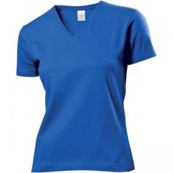 Classic V-neck t-shirt dames