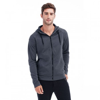 Sweater hood zip performance for him