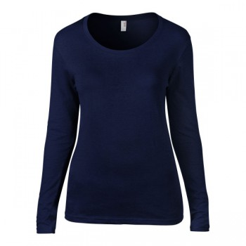 T-shirt featherweight crewneck ls for her