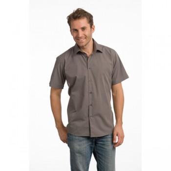 Shirt poplin mix ss for him