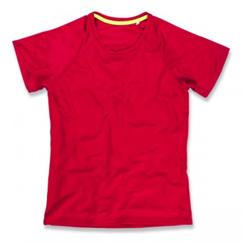 T-shirt raglan mesh active-dry for her