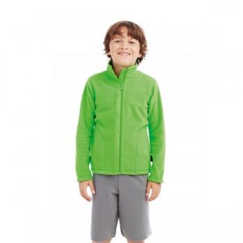 Polar fleece cardigan for kids