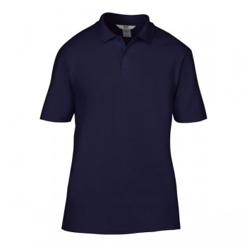 Polo double pique for him
