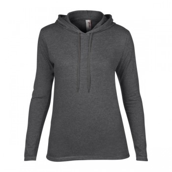 T-shirt hooded ls for her