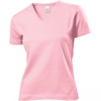 Classic V-neck t-shirt dames
