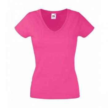 Lady-fit v-neck t-shirt