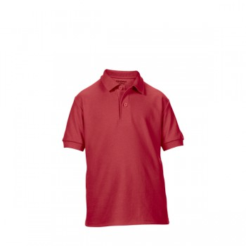 Polo double pique dryblend for kids