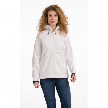Jacket hooded softshell for her