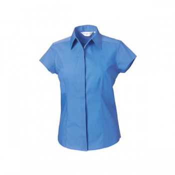 Fitted poplin shirt ladies kapmouw