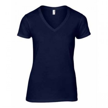 T-shirt fashion v-neck ss for her