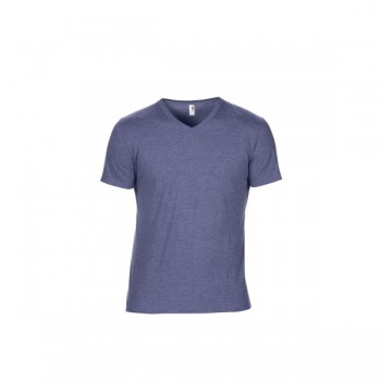 T-shirt triblend v-neck ss for him