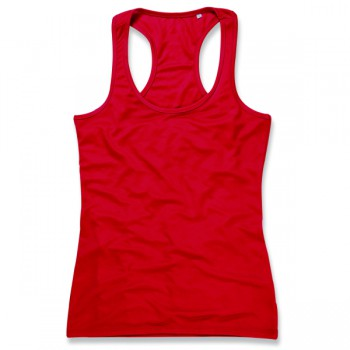 Tanktop mesh active-dry sleeveless