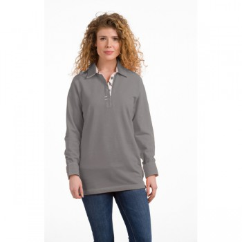 Polo cot/elst ls for her