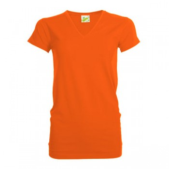 Personality V-neck t-shirt for her