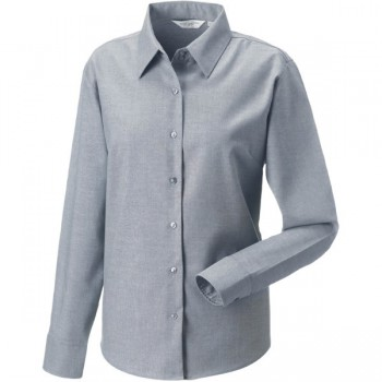 Oxford shirt Ladies lange mouw