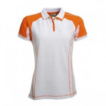Polo contrast ss for her