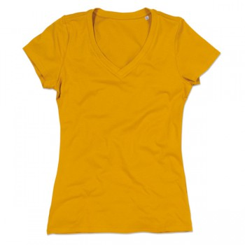 T-shirt v-neck janet ss for her
