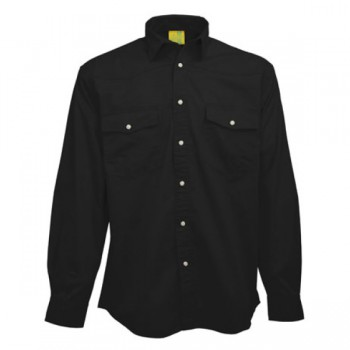 Shirt cotton twill ls