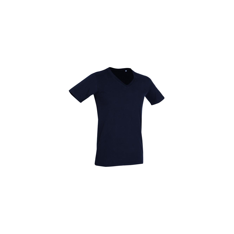 T-shirt deep v-neck Dean