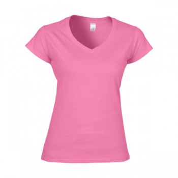 T-shirt softstyle v-hals for her