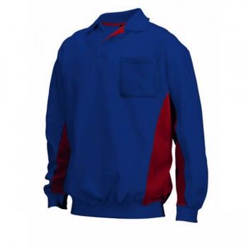 Polosweater bi-color