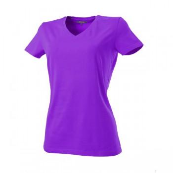 Dames t-shirt v-neck