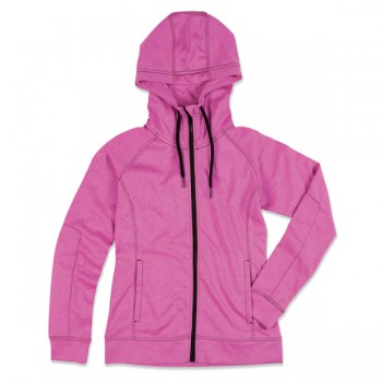 Sweater hood zip performance for her