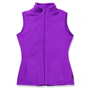 Polar fleece vest for her