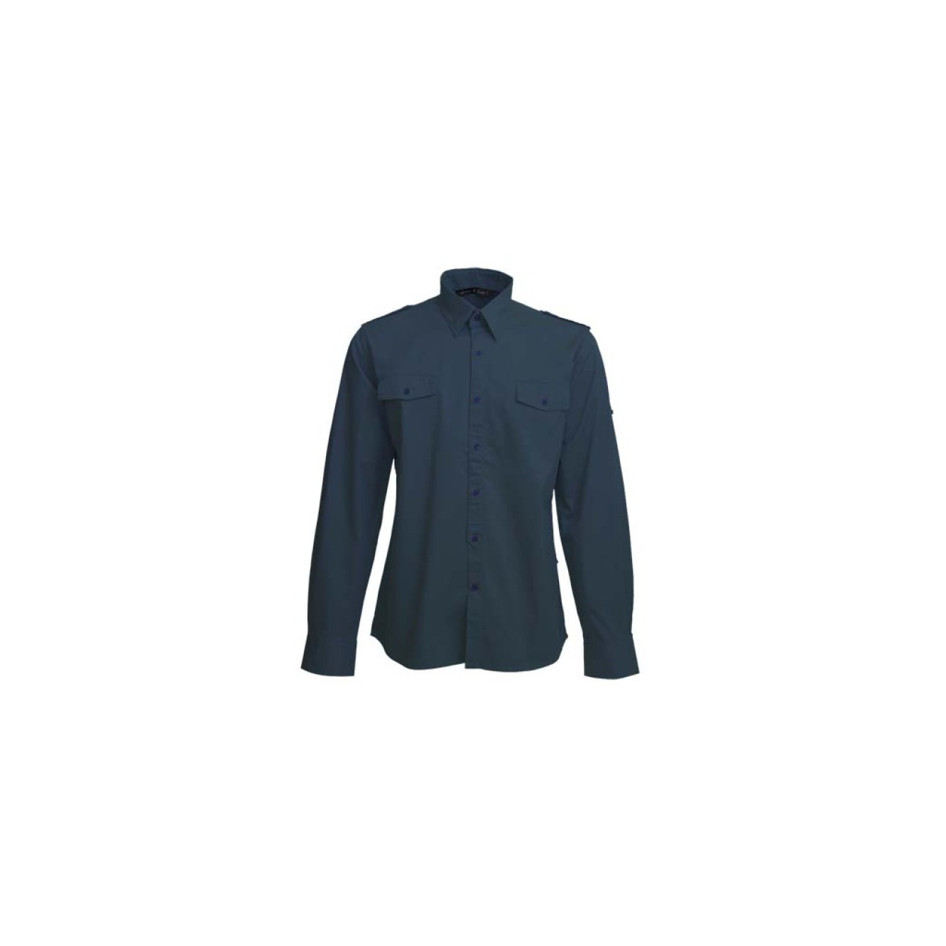 Shirt twill ls for him