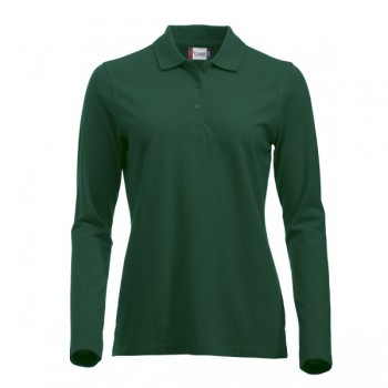 Dames polo Classic Marion L/S