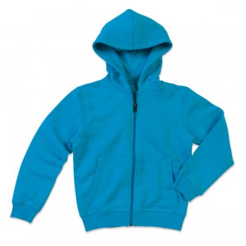 Sweater hood zip active for kids